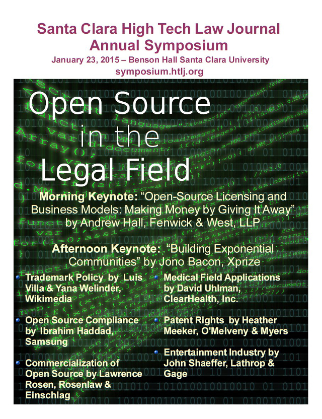 Open Source in the Legal Field