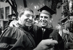 Leon Panetta Greets Son James Before Law Commencement