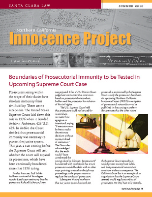 northern california innocence project Faculty and staff university phonebook contact northern california innocence project 500 el camino real, santa clara, ca 95053 900 lafayette st room suite 105.