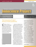 The Innocence Quarterly [Winter 2008]